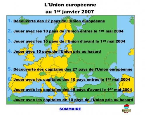 L'union Européenne : sites