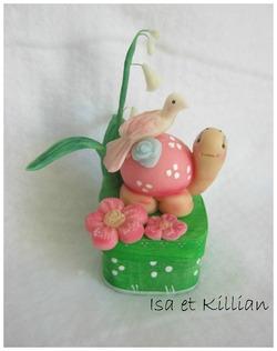 Boite tortue printemps
