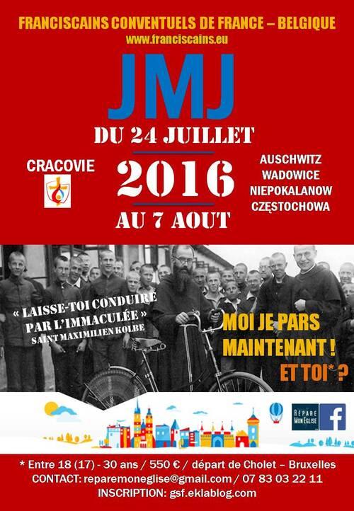 Partir au JMJ - CRACOVIE