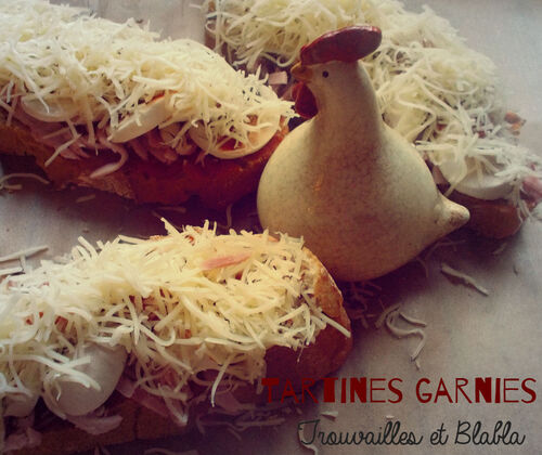 Tartines garnies