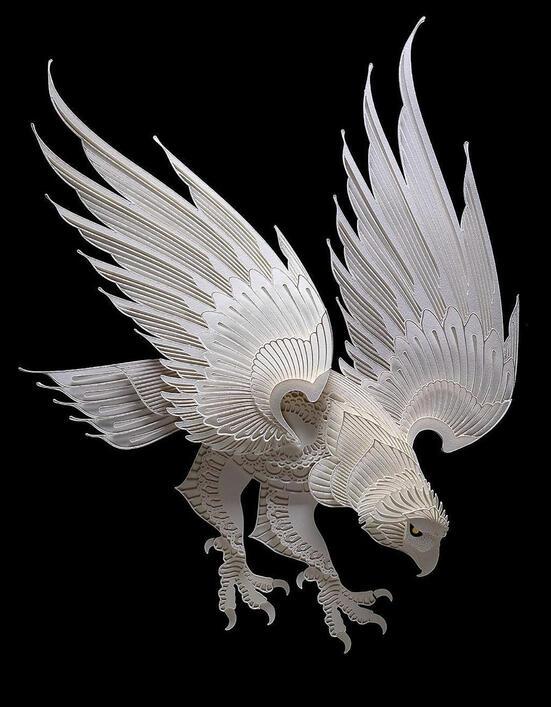 Patrick-Cabral-sculpture-papier