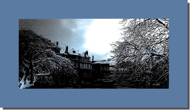 Janvier en hiver lorrain...