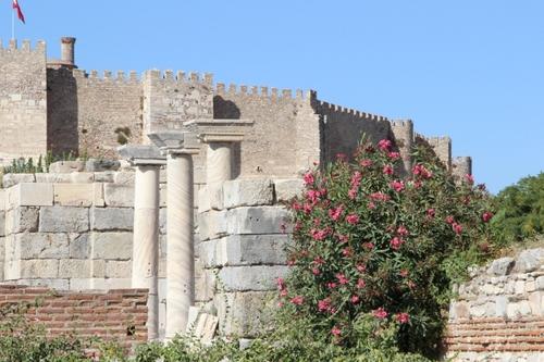 La basilique Saint-Jean d'Éphèse (Turquie)