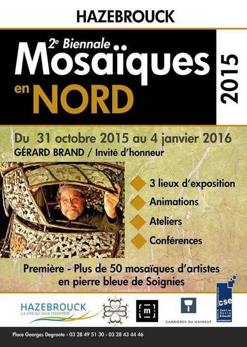 Exposition de mosaïques à Hazebrouck