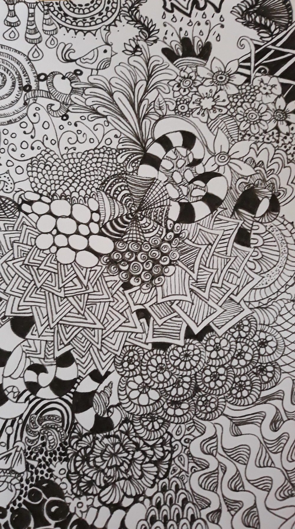 Coloriages zentangles