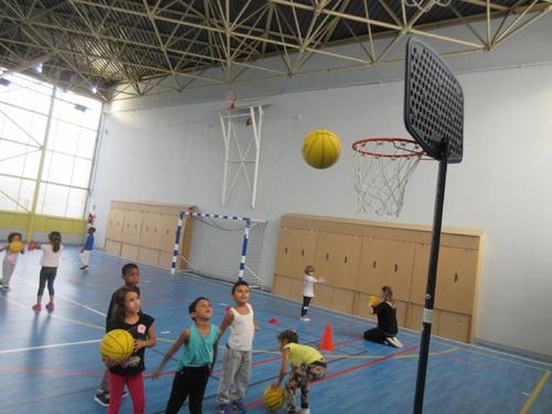 Basket-ball pour les cpA