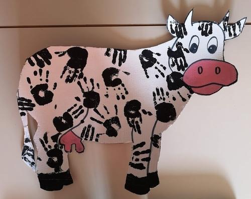 Notre vache est terminée !