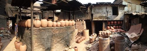 Site des potiers de Mumbai