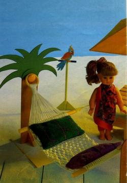 Hamac pour poupée