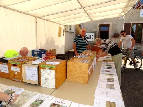 """""""Au temps du tacot"""", une belle exposition a eu lieu à Essarois les 11 et 12 août 2012"""