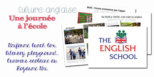 Un peu de culture anglaise : l'école