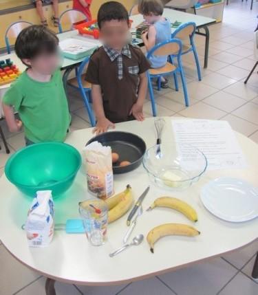 Bolo de bananas