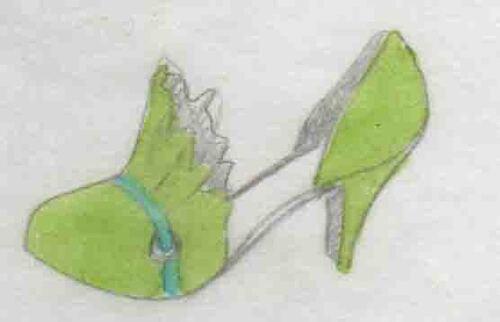 sandales, souliers, talons