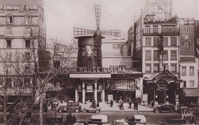 Box-office du Moulin Rouge - De 1934 à 1942