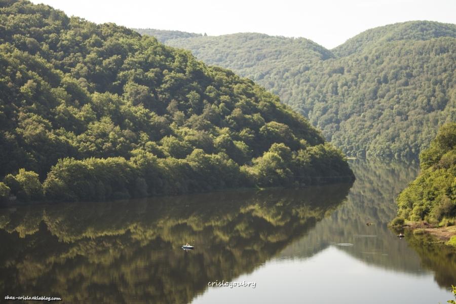 la vallée de la Dordogne...