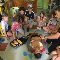 Formation aux premiers secours en CM2