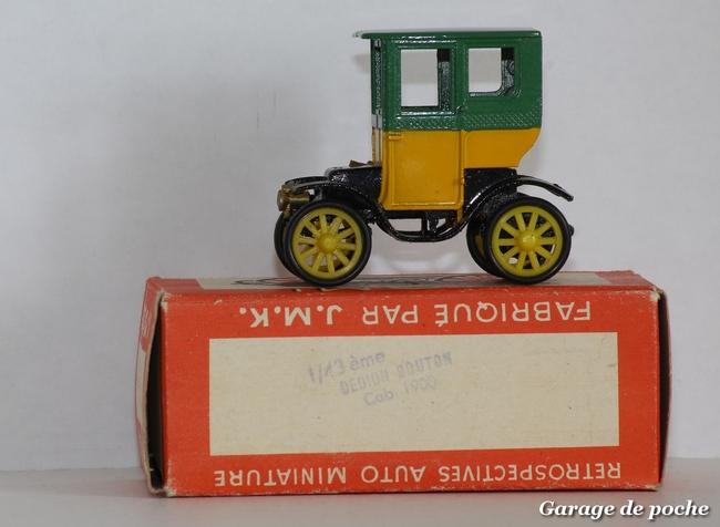 De Dion-Bouton Cab 1900 RAMI JMK