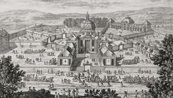 La Ménagerie en 1794, source : versailles3d.com