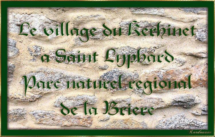 Kerhinet, village briéron