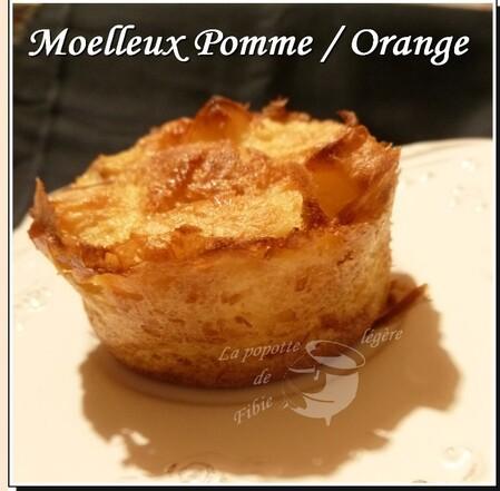Moelleux pomme / orange