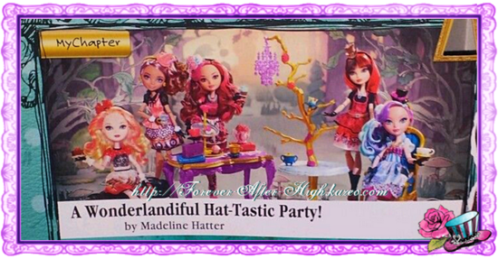 Ever-after-high-hat-tastic-party dolls
