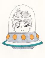 De la boite de l'espace
