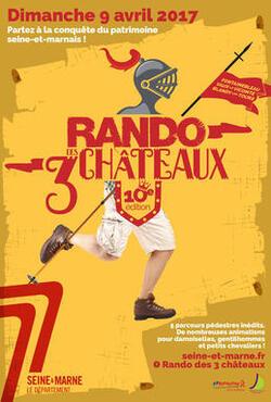 Rando des 03 châteaux 2017.