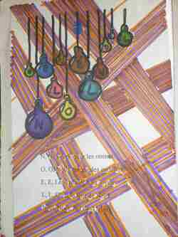 Illustrations des cahiers de chant et poésie