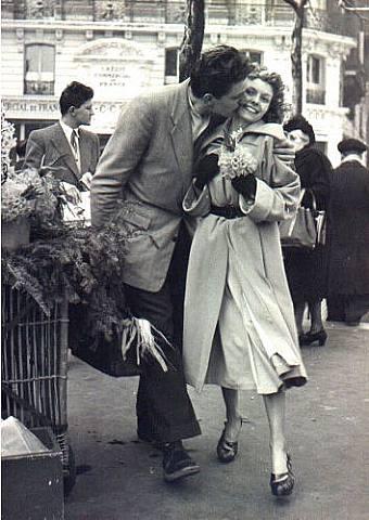 Les baisers de Doisneau...