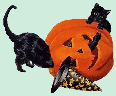 Tubes halloween animaux