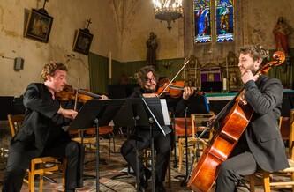 Concert Trio Wilhelm et orchestre d'Harmonie à Rosnay