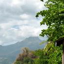 La Pelée depuis l'Anse Turin - Photo ; Yvon