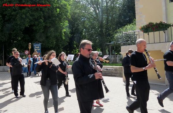 Saint Vorles a été fêté à Châtillon sur Seine....
