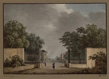 Barrière Poissonnière 1819