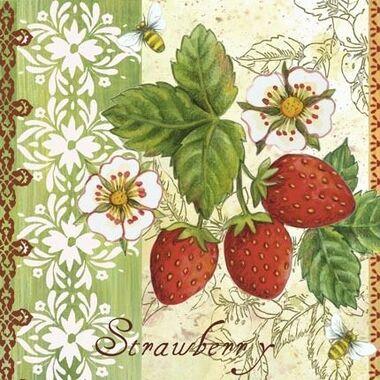 Le temps des fraises...