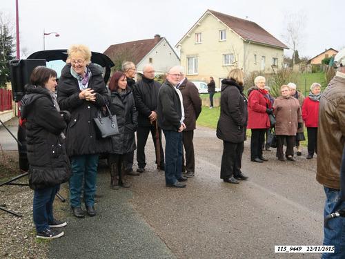 """* 71 ème anniversaire de la libération de Frahier-les-Barres par le """"4ème Choc de Cluny"""""""