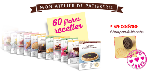"Collection "" Mon atelier de pâtisserie "" - Editions Atlas - Dec 2013"