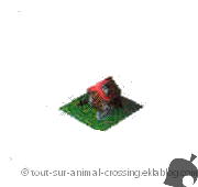 modèle 1 étage - animal crossing DS