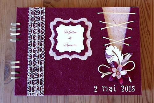 Livre d'or pour un mariage