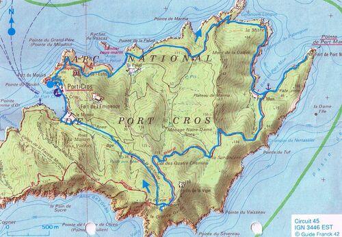 PORT-CROS : dimanche 16 septembre