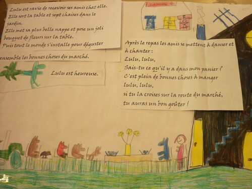 RENCONTRE DE LA CLIS AVEC L ILLUSTRATRICE KRIS DI GIACOMO