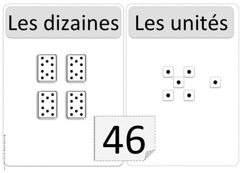 Affichage Dizaines et unités ( CP et CE1 ) Cap-math