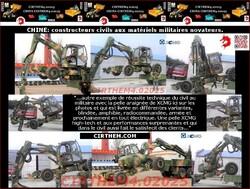 CHINE: constructeurs civils aux matériels militaires novateurs.