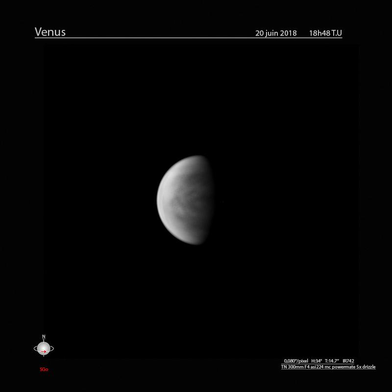 Venus juin 2018