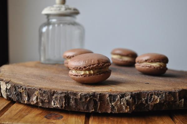 Macarons Chocolat-Café