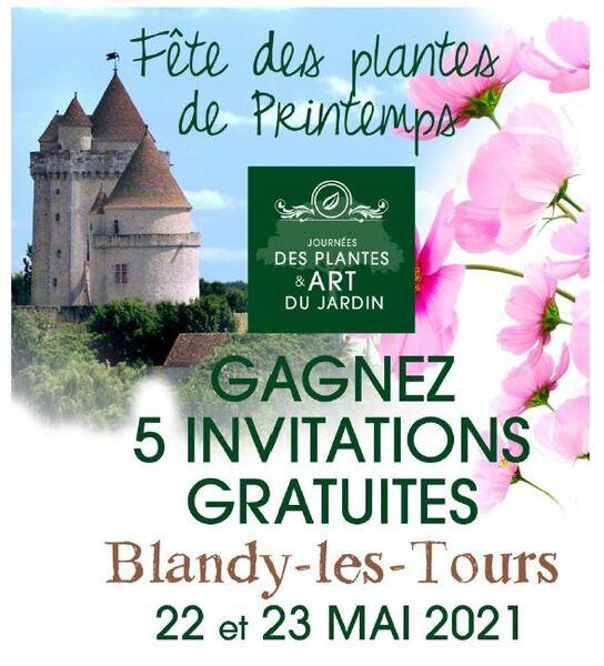 Journées des Plantes et Art du Jardin de Blandy-les-Tours