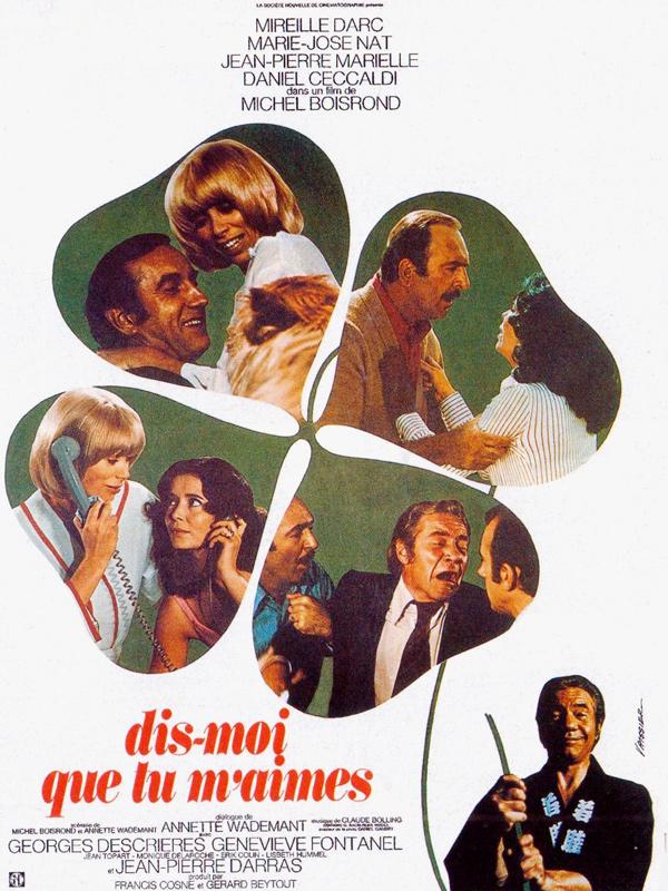 """Résultat de recherche d'images pour """"Dis-moi que tu m'aimes (1974)imdb"""""""