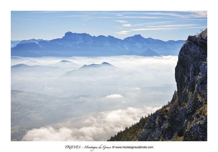 Pas du Serpaton, entre massif du Vercors et Trièves