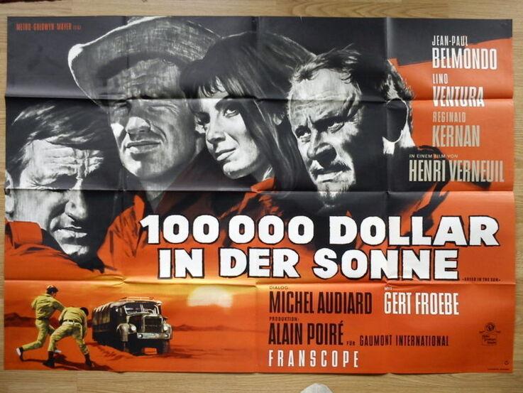 100 000 DOLLARS AU SOLEIL - JEAN PAUL BELMONDO BOX OFFICE 1964