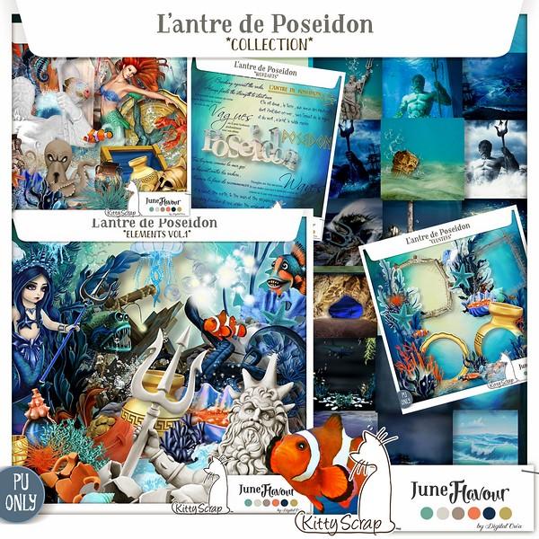 COLLECTION L'antre de Poseidon de kittyscrap